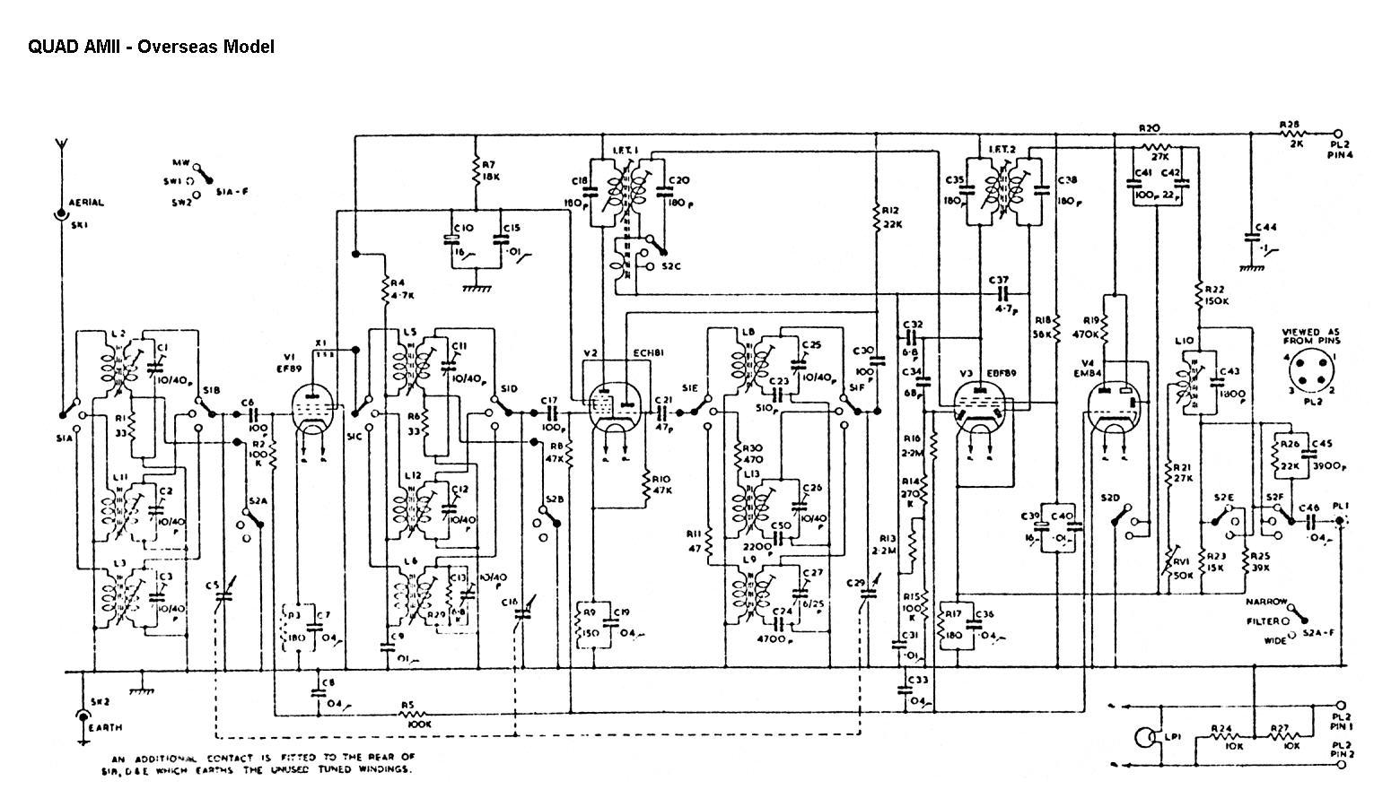 Complete Circuit Diagram - Overseas Model ...