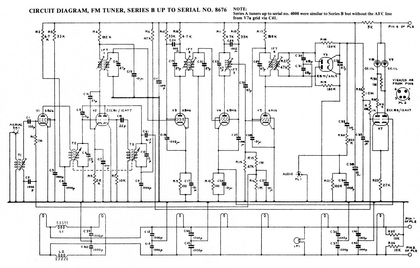 Circuit Dias Fm Amplifier Complete Diagram Early Models