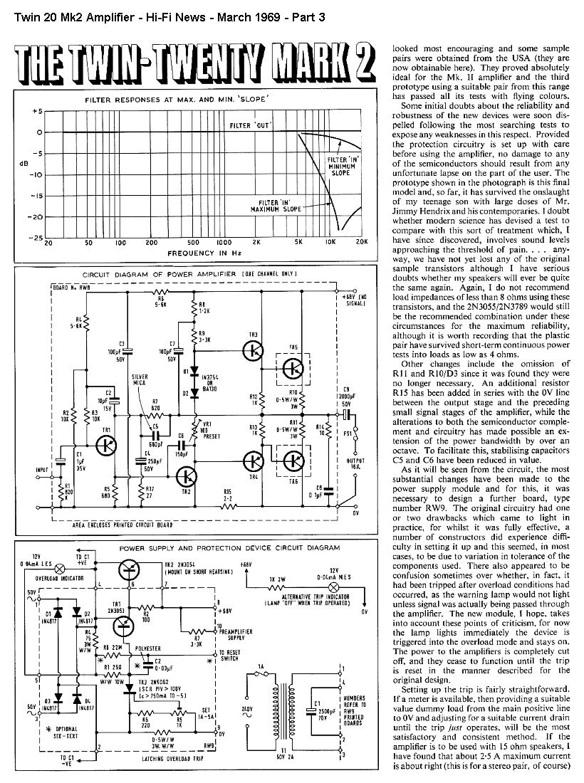 Hi Fi Diy Projects Active Crossover Schematic Diagram Project Part 3
